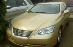 Foreign Used Lexus ES 2009 Model Beige