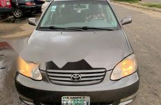 Affordable & well maintained Nigerian used 2004 Toyota Corolla