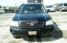 Nigeria Used Toyota Highlander 2003 Model Black