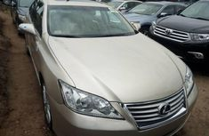 Foreign Used Lexus ES 2011 Model Gold