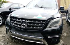 Foreign Used Mercedes-Benz ML 2012 Model Black