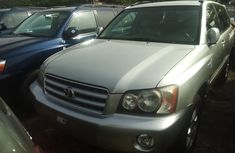 Foreign Used 2005 Toyota Highlander for sale