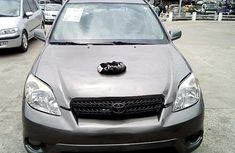 Nigeria Used Toyota Matrix 2007 Model Grey