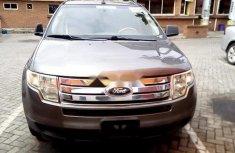 Nigeria Used Ford Edge 2009 Model Grey