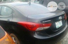 Nigerian Used Hyundai Elantra Black 2011