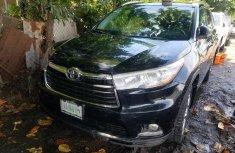 Nigeria Used Toyota Highlander 2014 Model Blue