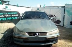 Nigeria Used Peugeot 406 2001 Model  Manual Blue