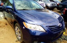 Nigerian Used Toyota Camry 2008 Blue Sedan