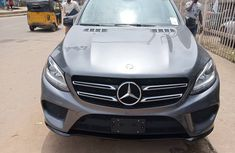 2016 Mercedes Benz GLE 350 Tokunbo Gray SUV