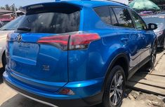 Toyota RAV4 2018 Blue Foreign Used Crossover for Sale