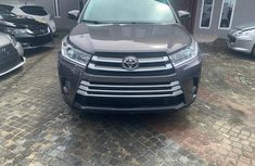 Toyota Highlander SUV Foreign Used 2017 Gray for Sale