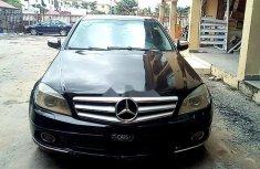 Nigeria Used Mercedes-Benz C180 2008 Model Black