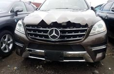 Tokunbo Mercedes-Benz ML350 2012 Model Grey