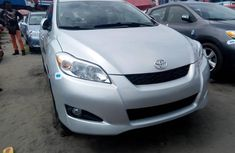 Tokunbo Toyota Matrix 2013 Model Silver