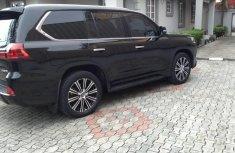Tokunbo Lexus LX 2016 Model Black