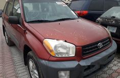 Tokunbo Toyota RAV4 2003 Model Red