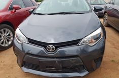 Foreign Used Toyota Corolla 2017 Model Grey
