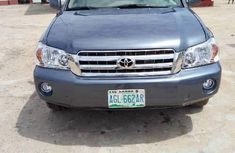 Nigeria Used Toyota Highlander 2005 Model Blue