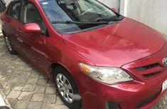 Nigeria Used Toyota Corolla 2011 Model Red