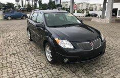 Foreign Used Pontiac Vibe 2005 Automatic Black