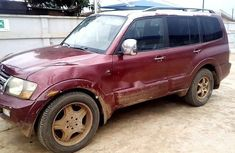 Very Clean Nigerian used Mitsubishi Montero 2001