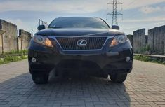 Foreign Used Lexus RX 2012 Petrol Automatic Black