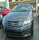 Nigeria Used Honda City 2009 Model Grey