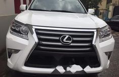 Foreign Used Lexus GX 2015 Petrol Automatic White