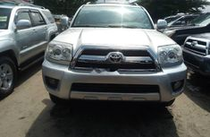 Foreign Used Toyota 4-Runner 2007 Automatic Silver