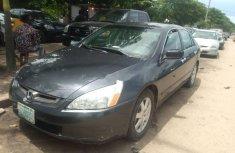Properly maintained Nigerian used 2005 Honda Accord