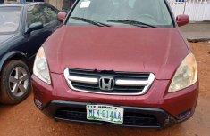 Nigeria Used Honda CR-V 2003 Model Red