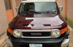 Nigeria Used Toyota FJ CRUISER 2008 Model Red