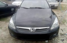 Tokunbo Honda Accord 2007 Model Black