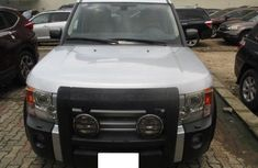 Nigeria Used Land Rover LR3 2005 Model Silver