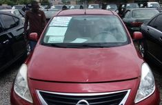 Nigeria Used Nissan Almera 2014 Model Red
