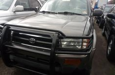 Foreign Used Toyota 4-Runner 2002 Model Grey
