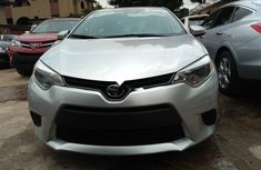 Tokunbo Toyota Corolla 2015 Model Silver