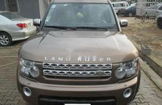Nigeria Used Land Rover LR3 2006 Model Gold