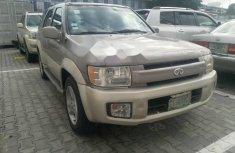 Nigeria Used Infiniti QX 2003 Model Gold
