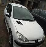Nigeria Used Peugeot 206 2007 Model White