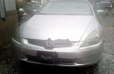 Nigeria Used Honda Accord 2005 Silver