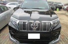 Nigeria Used Toyota Land Cruiser Prado 2014 Model Black