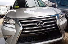 Foreign Used Lexus GX 2014 Model Silver