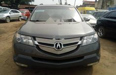 Foreign Used Acura MDX 2007 Model Grey