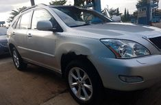 Foreign Used Lexus RX 2008 Model Silver