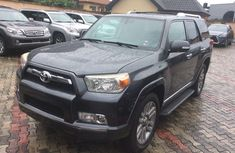 Foreign Used Toyota 4-Runner 2012 Model Grey