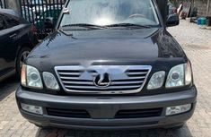 Foreign Used Lexus LX 2006 Model Black
