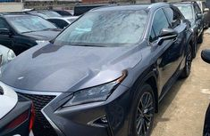 Foreign Used Lexus RX 2017 Model Grey