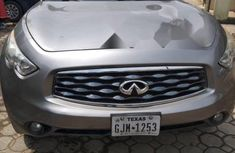 Foreign Used Infiniti FX 2011 Model Silver