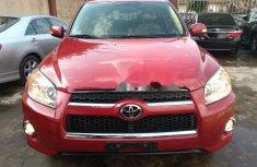 Foreign Used Toyota RAV4 2012 Model Red